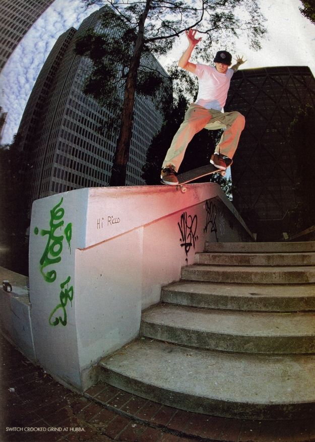 MJ made his mark on skate history. Hubba Hideout raised the stakes.